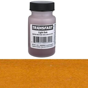 Light Oak Transfast Alcohol/Water Soluble Dye 1 oz