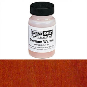 Medium Walnut Transfast Water Soluble Dye 1 oz