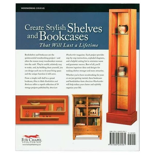 View a Larger Image of How to Make Bookshelves & Bookcases