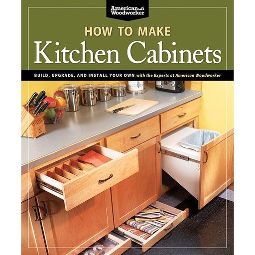 View a Larger Image of How To Make Kitchen Cabinets