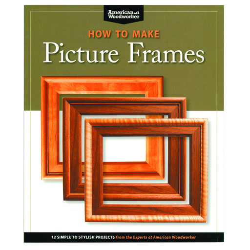 View a Larger Image of How to Make Picture Frames