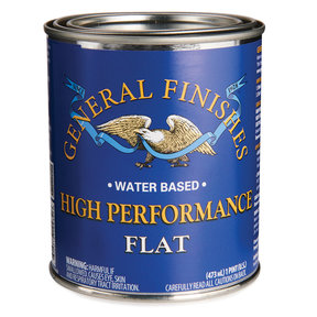 Flat High Performance Varnish Water Based Pint