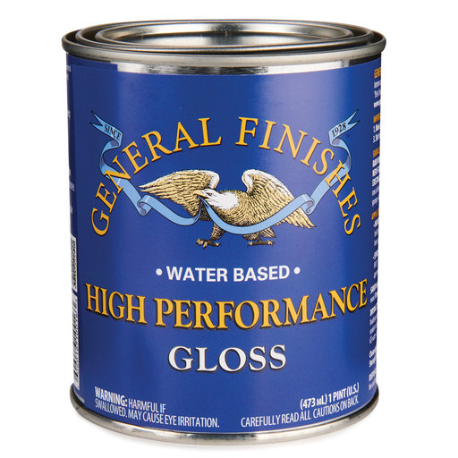 View a Larger Image of Gloss High Performance Varnish Water Based Pint