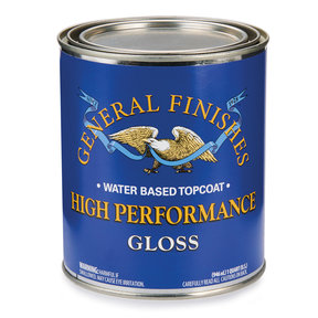 Gloss High Performance Varnish Water Based Quart