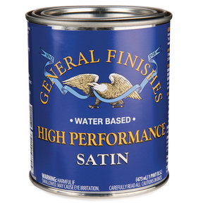 Satin High Performance Varnish Water Based Pint