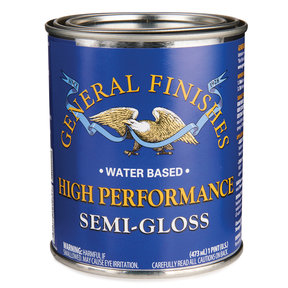 Semi-Gloss High Performance Varnish Water Based Pint