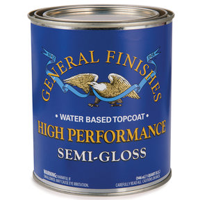 HP Polyurethane Top Coat, Semi-Gloss, Quart