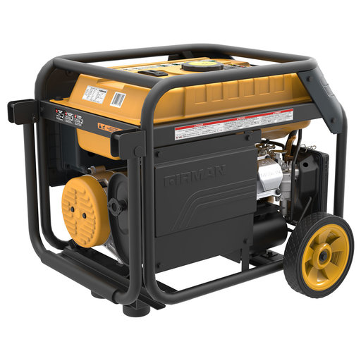 View a Larger Image of Hybrid series H03651 3650/4550 Watt Dual Fuel Generator w/Electric Start