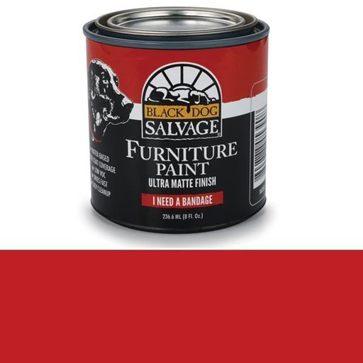View a Larger Image of 'I Need a Bandage' - Red Furniture Paint, 1/2 Pint 236.6ml (8 fl. Oz.)