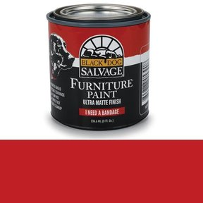 'I Need a Bandage' - Red Furniture Paint, 1/2 Pint 236.6ml (8 fl. Oz.)