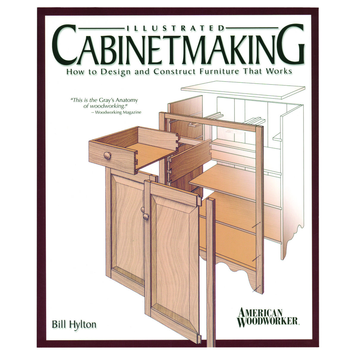 View A Larger Image Of Ilrated Cabinet Making How To Design And Construct Furniture That Works