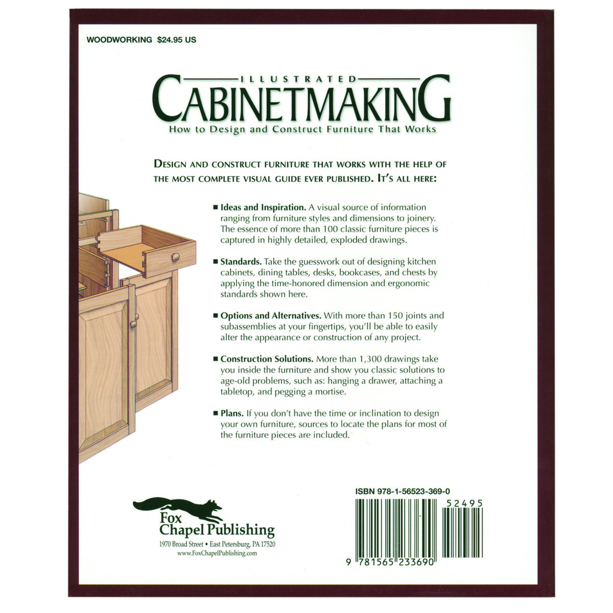 Fox Chapel Illustrated Cabinet Making How To Design And
