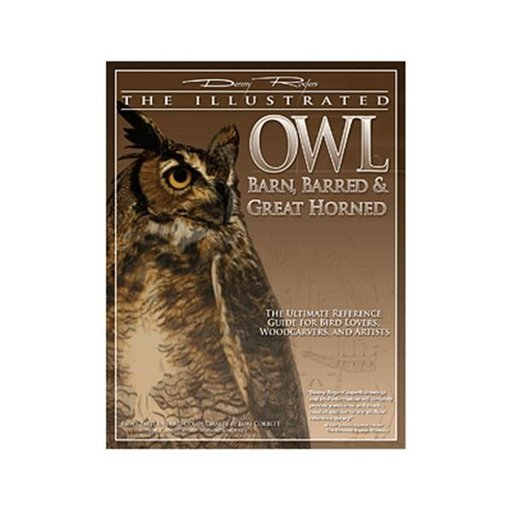 View a Larger Image of Illustrated Owl - Barn, Barred & Great Horned