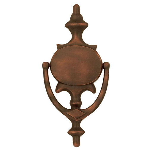 View a Larger Image of Imperial Door Knocker - Oiled Bronze