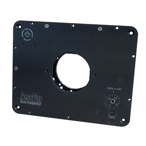 View a Larger Image of Imperial Prestige Router Lift For Plunge Routers