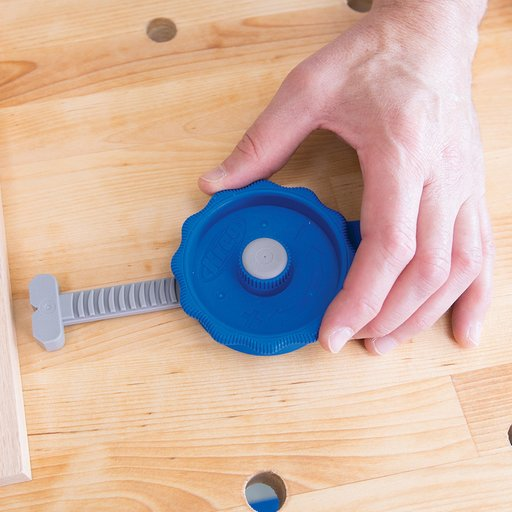 View a Larger Image of In-Line Bench Clamp For Bench Dog Holes