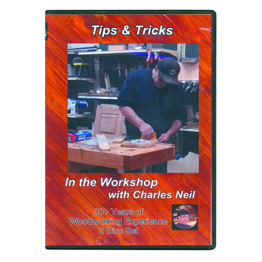 View a Larger Image of In The Workshop with Charles Neil Tips & Tricks DVD