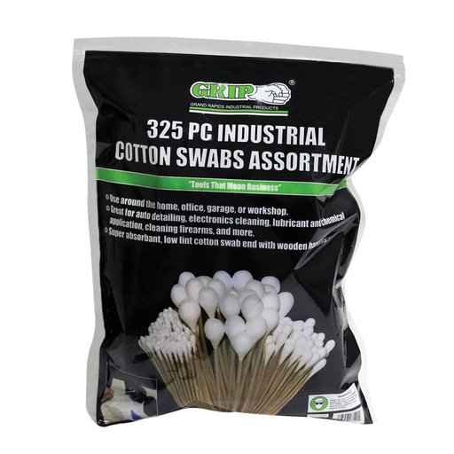 View a Larger Image of Industrial Cotton Swab Assortment