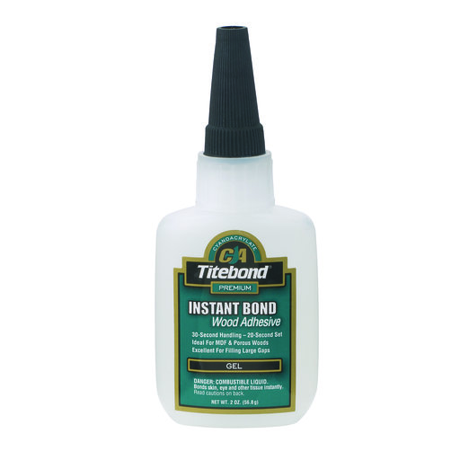 View a Larger Image of Instant Bond CA Adhesive, Gel 2-oz