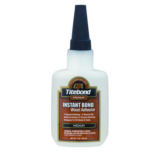 View a Larger Image of Instant Bond CA Adhesive, Medium 2-oz