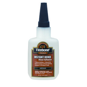 Instant Bond CA Adhesive, Medium 4-oz