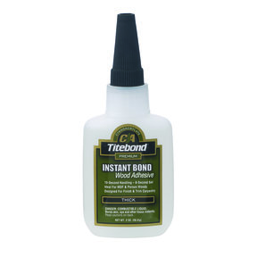 Instant Bond CA Adhesive, Thick 4-oz