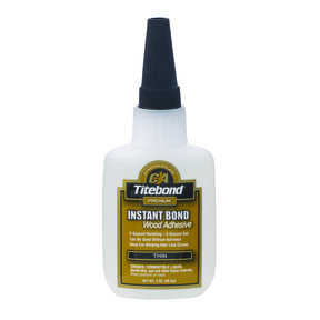 Instant Bond CA Adhesive, Thin 2-oz