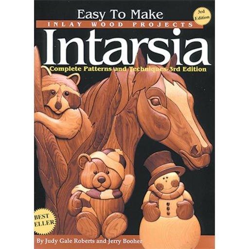 View a Larger Image of Intarsia: Easy To Make Inlay Wood Projects