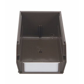 "24ct - 7-3/8""L x 4-1/8""W x 3""H Brown Stacking/Hanging Bins"