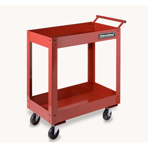 "View a Larger Image of 27"" Two Tray Utility Cart"