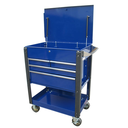 "View a Larger Image of 30"" 4-Drawer Heavy Duty Utility Cart"