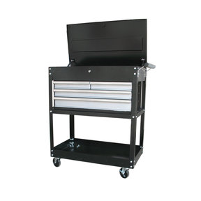 "33"" 4-Drawer Heavy Duty Utility Cart"