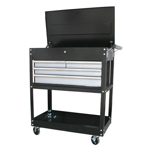 "View a Larger Image of 33"" 4-Drawer Heavy Duty Utility Cart"