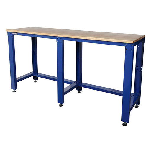 "View a Larger Image of 65"" Workbench with Hardwood Top"
