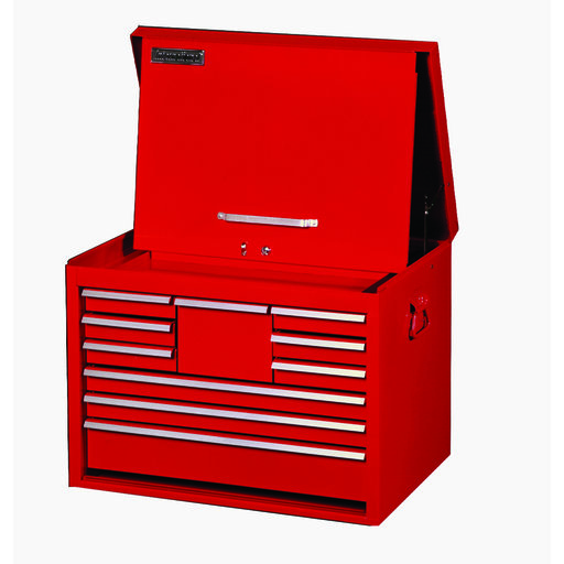 "View a Larger Image of Classic Series 27"" 10-Drawer Tool Chest, Red"