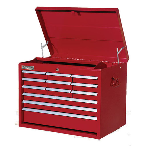"View a Larger Image of Classic Series 27"" 12-Drawer Tool Chest, Red"