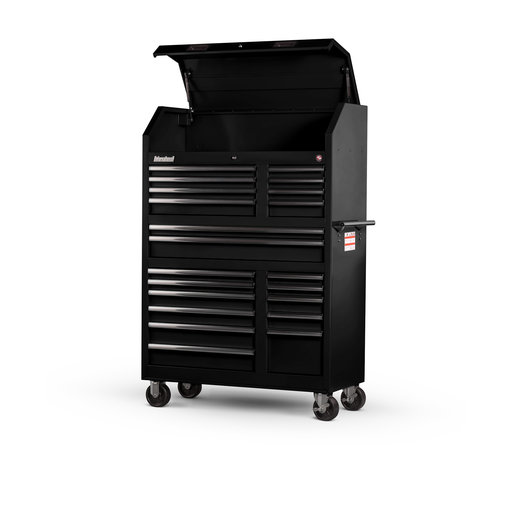 "View a Larger Image of Tech Series 27"" 20-Drawer Tool Tower, Black"