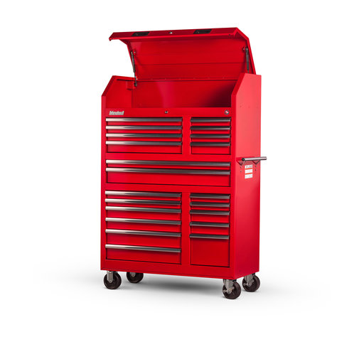 "View a Larger Image of Tech Series 27"" 20-Drawer Tool Tower, Red"