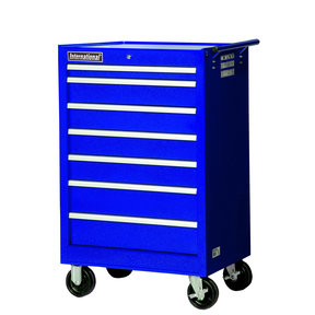 "Tech Series 27"" 7-Drawer Cabinet, Blue"