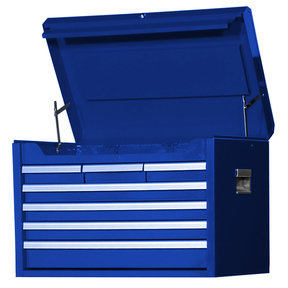 "Tech Series 27"" 7-Drawer Deep Chest, Blue"