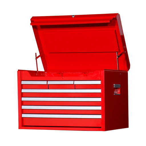"View a Larger Image of Tech Series 27"" 7-Drawer Deep Chest, Red"