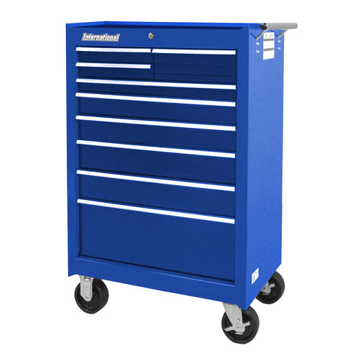 "View a Larger Image of Workshop Series 27"" 9-Drawer Cabinet, Blue"