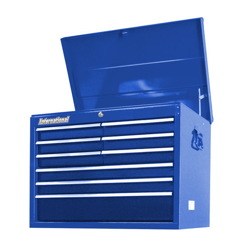 "View a Larger Image of Workshop Series 27"" 9-Drawer Deep Top Chest, Blue"