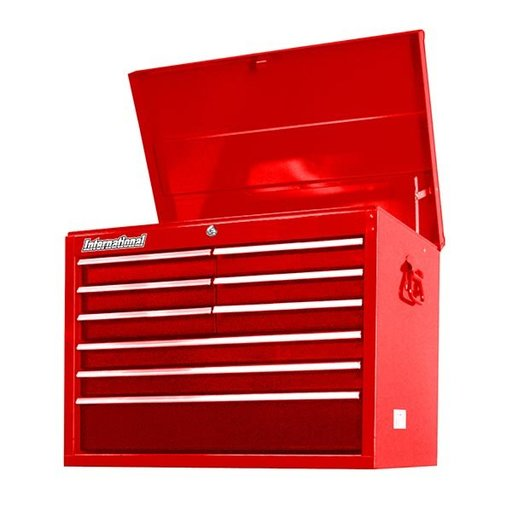"View a Larger Image of Workshop Series 27"" 9-Drawer Deep Top Chest, Red"