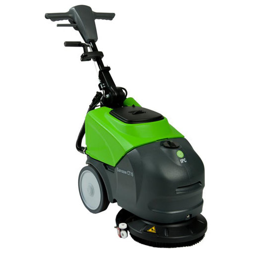 "View a Larger Image of 14"" Corded Electric Automatic Scrubber, Model CT15-E"
