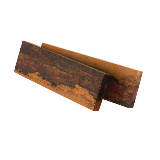 "View a Larger Image of Ironwood Surinam 3/8"" x 1-1/2"" x 5"" Knife Scale 2-piece"