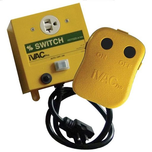 View a Larger Image of PRO 240-Volt Remote Control For Dust Collectors