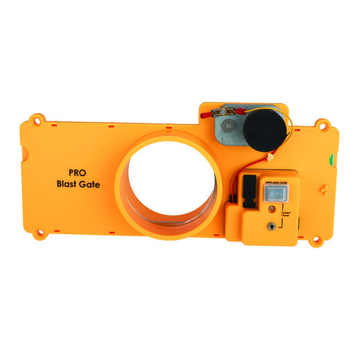 View a Larger Image of PRO 4-Inch Molded Blast Gate