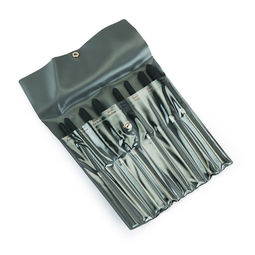 View a Larger Image of 8pc Round File Set with Pouch