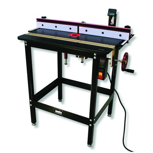 View a Larger Image of Mast-R-Lift Excel II Included Complete Router Table System